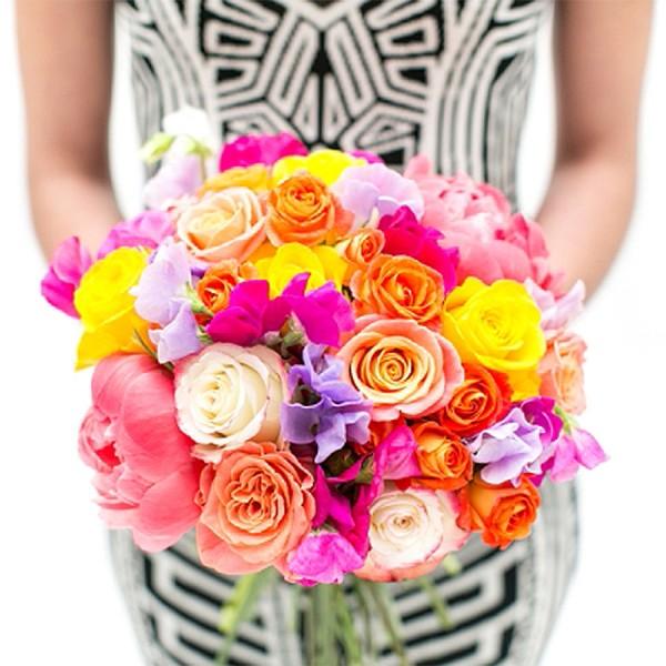 I must have flowers, always, &always