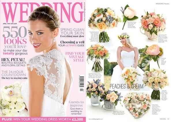 Boutique Blooms Floral Design & Styling, wedding flowers surrey, peach wedding