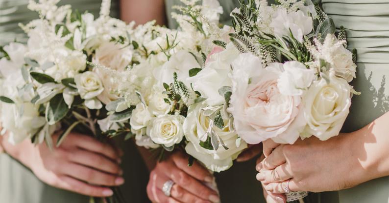 A Pretty Spring Surrey Garden Wedding