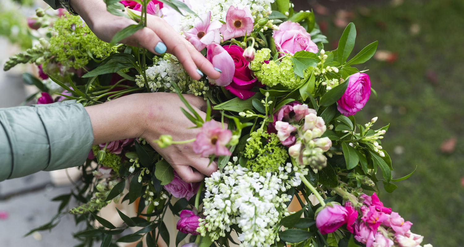 Boutique Blooms offers wedding and events floristry across London and Surrey.